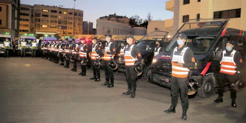 Couvre-feu: La police et les gendarmes renforcent les contrôles