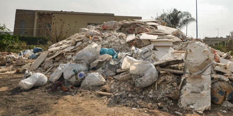 Déchets inertes: Plus de 300 points noirs à Casablanca