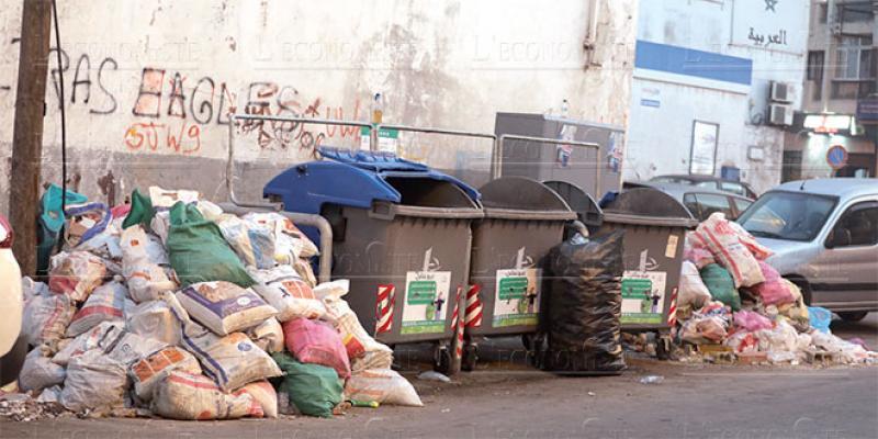 Casablanca: Les déchets inertes regagnent du terrain