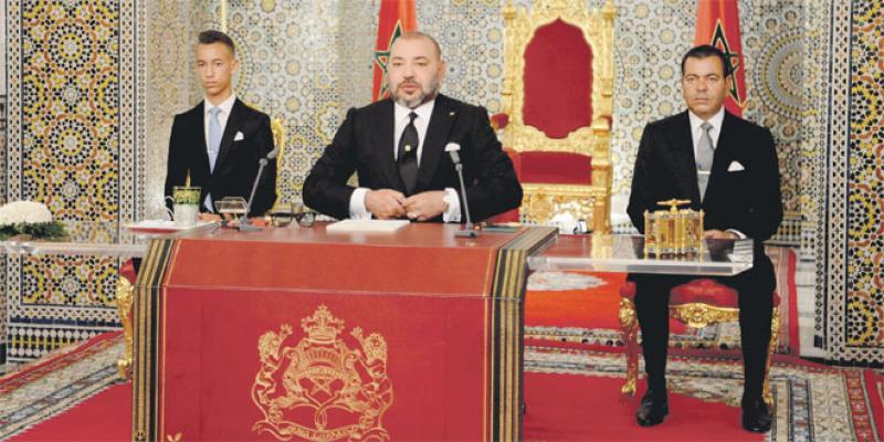 Discours du Trône: Rappel à l'ordre royal