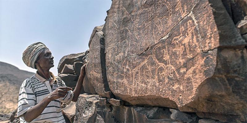 A Djibouti, un immense bestiaire gravé dans la roche