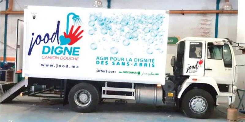 Casablanca: Des douches ambulantes pour sans-abri
