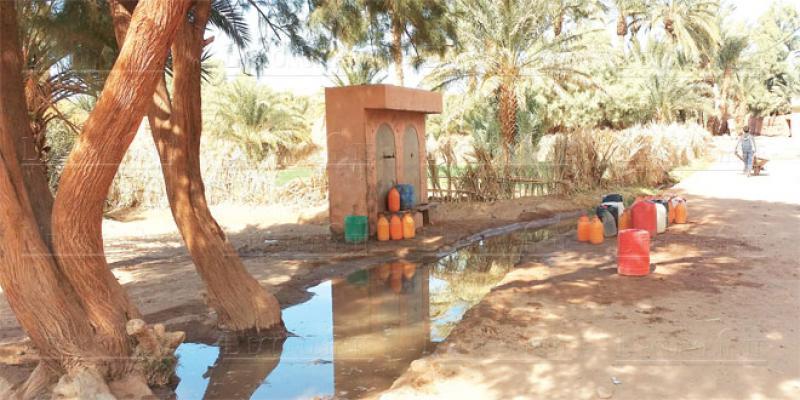 Pénurie d'eau: Zagora réclame son droit à boire