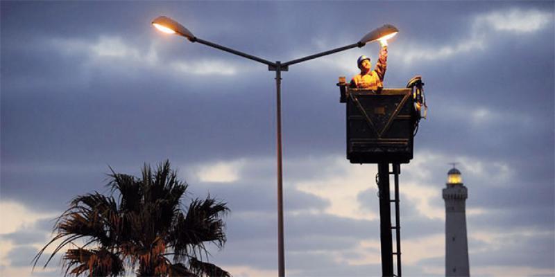 Candélabres pour l'éclairage public: Une mesure de sauvegarde entre en vigueur
