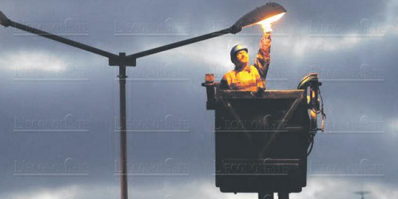 Eclairage public: Tanger recense ses lampadaires