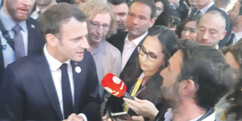 Digital: Ce qu'attend Macron du partenariat avec le Maroc