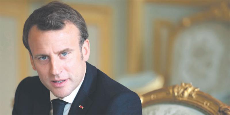 Emmanuel Macron s'adresse aux Français