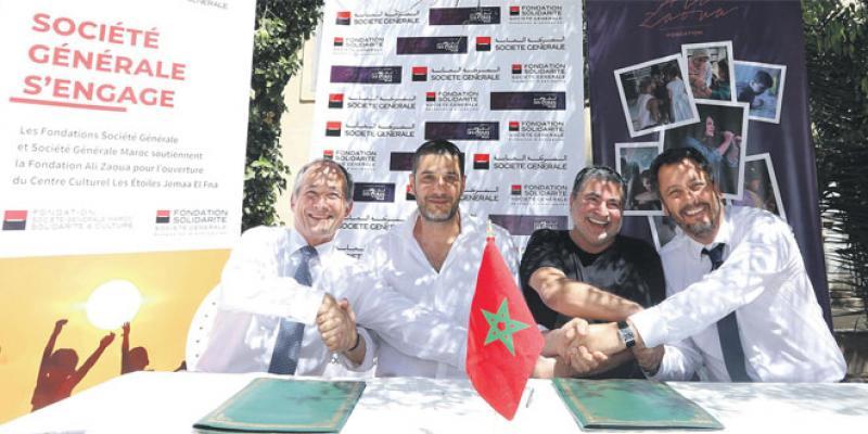 Un projet de lutte contre l'écart social «Les Étoiles de Jemaa el Fna»