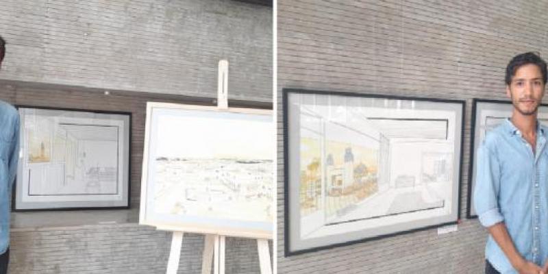 Exposition: «Rabat entre les lignes»