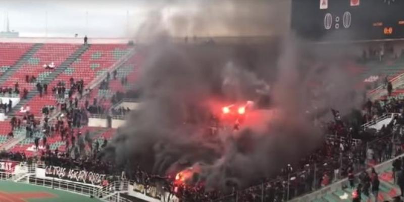 VIDEO-FAR vs Berkane : Le Hooliganisme fait encore des dégâts