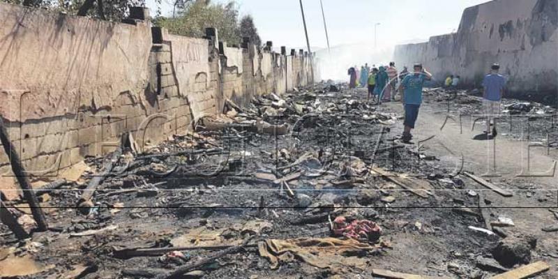 Baraques incendiées à Fès: Un acte prémédité?