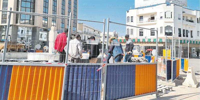 Fès-boulevard Med V: Les travaux d'aménagement relancés
