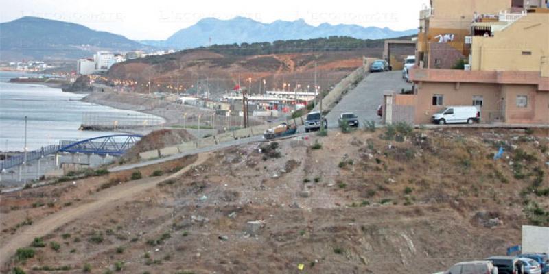Fnideq: La zone d'activité économique sur les rails
