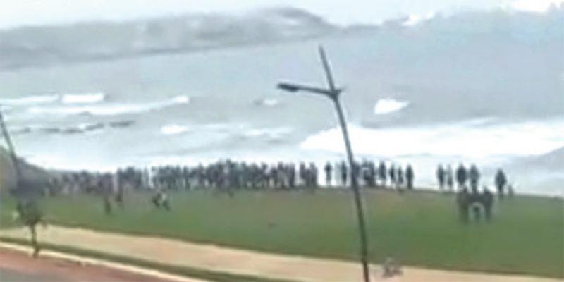 Fnideq:140 jeunes tentent le passage vers Sebta en deux jours