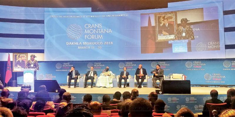 Ouverture officielle du Forum Crans Montana de Dakhla