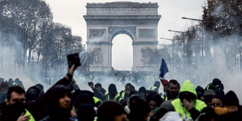 «Gilets jaunes»: Une 4e journée de violences en France