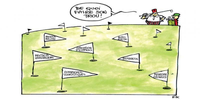 L'économie du green: Le juteux business du golf