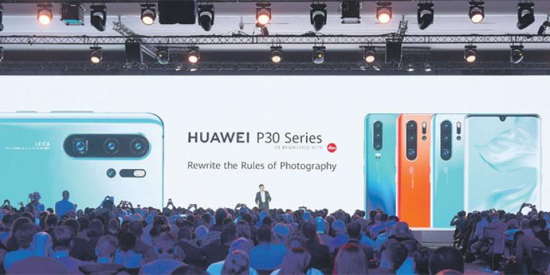Huawei introduit sa gamme de luxe P30