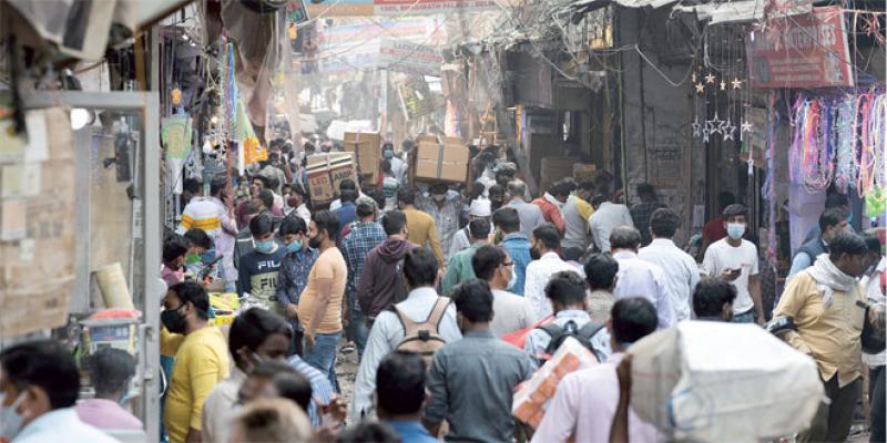 L'Inde redoute l'effet conjugué du virus et de la pollution