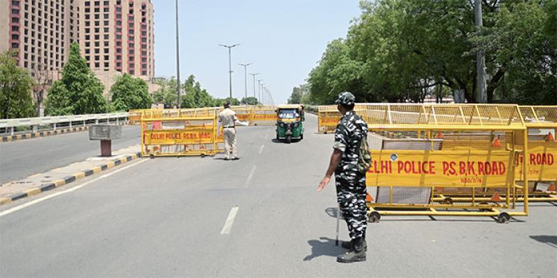 New Delhi confinée pour une semaine