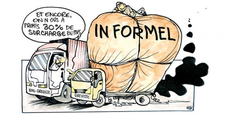 Une grève de routiers contre les routiers
