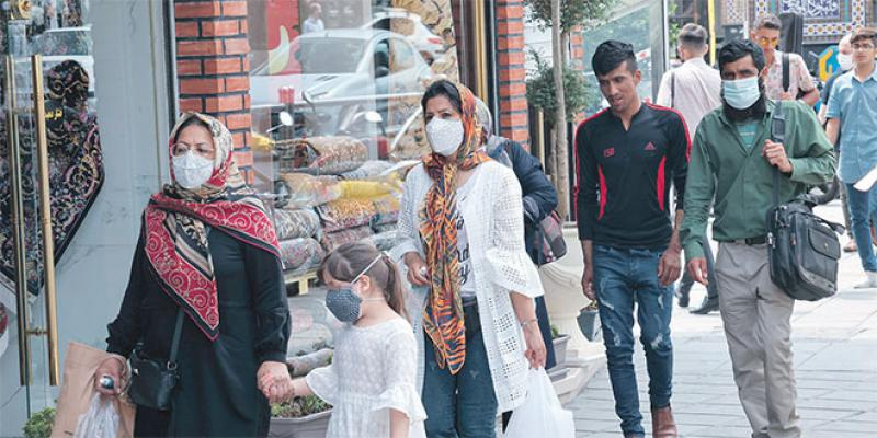 L'Iran passe la barre de 4 millions de contaminations!