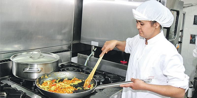 Cuisine et restauration: Des opportunités de formation pour les trisomiques