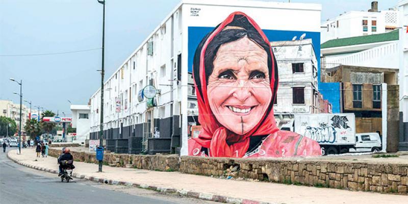 Jidar réinvestit les murs de Rabat