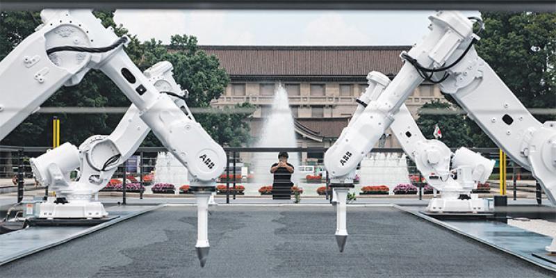 JO: Des robots reconvertis en jardiniers à Tokyo