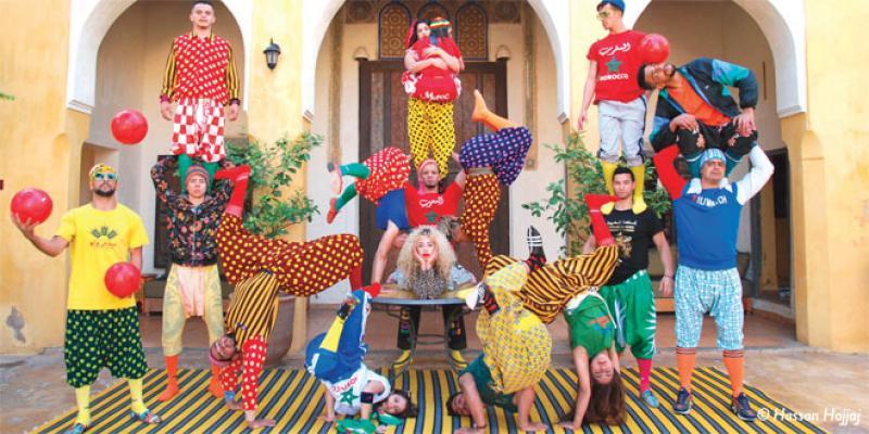 Spectacle: Les acrobates de Tanger à Marrakech