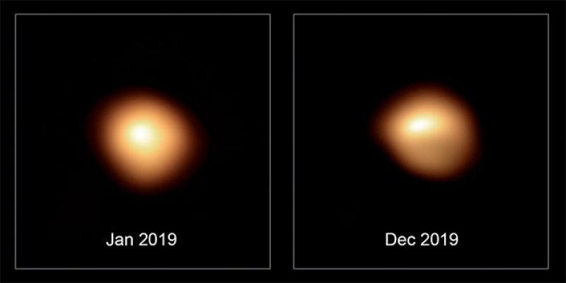 L'étoile Bételgeuse, «super-géante rouge», continuera à illuminer l'Univers