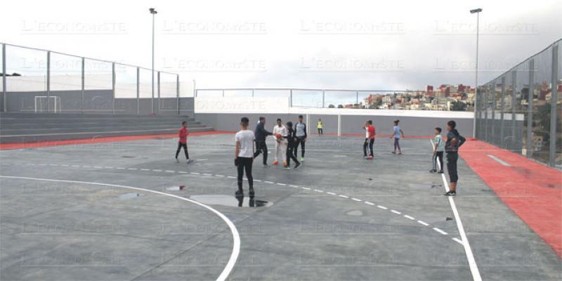 Un lycée sportif ouvre à Tanger