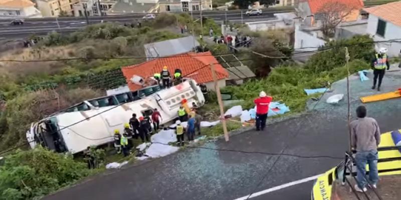 Madère : 29 touristes allemands périssent dans un accident