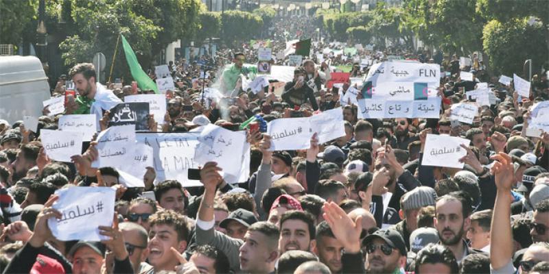 L'Algérie sous pression