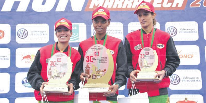 30e Marathon de Marrakech: Les Marocains ont tout raflé!