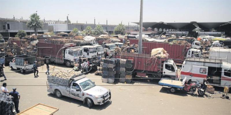 Casablanca: Un marché de gros... d'un autre âge