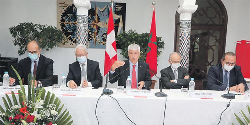 100 ans de présence diplomatique suisse au Maroc