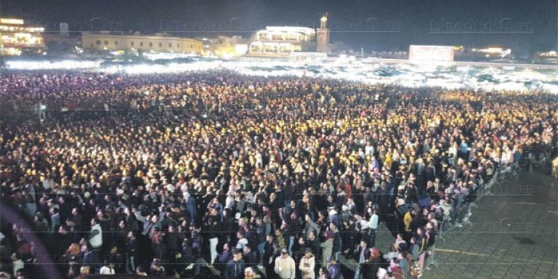 Fêtes de fin d'année: Marrakech destination people!
