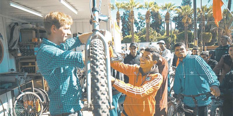 Marrakech: Des ateliers de vélos pour mieux pédaler
