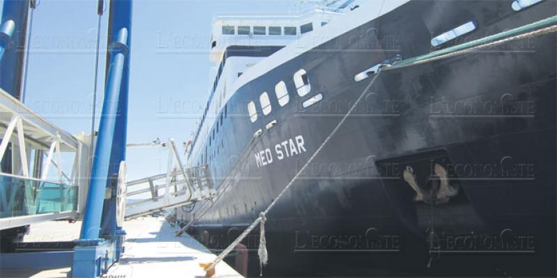 Transport maritime: Le Med Star entre en service