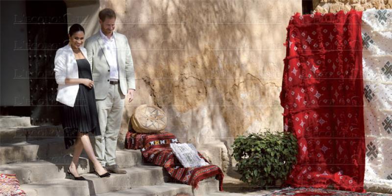 Meghan et le prince Harry au Maroc: Un couple décontracté