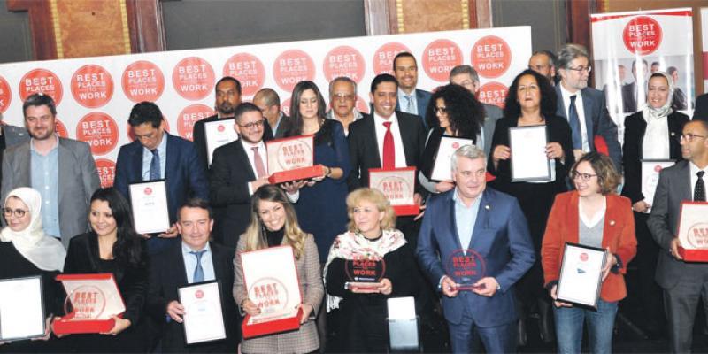 Un trophée pour récompenser les meilleurs employeurs