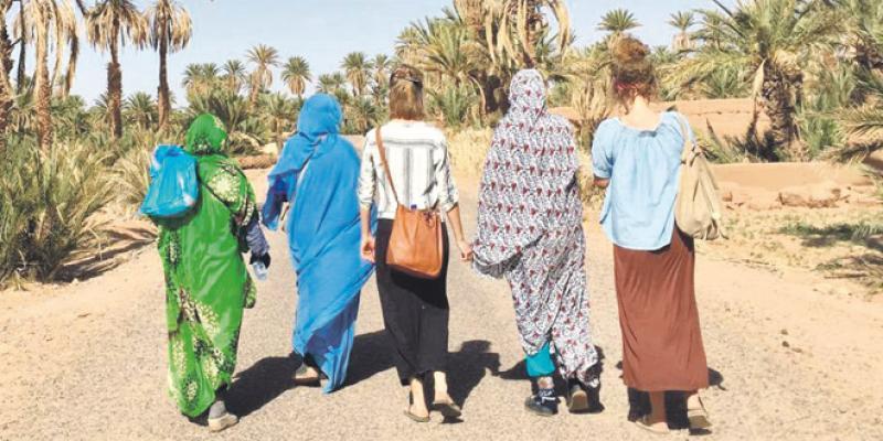 «Carpet of life» pour soutenir les femmes de M'hamid El Ghizlane