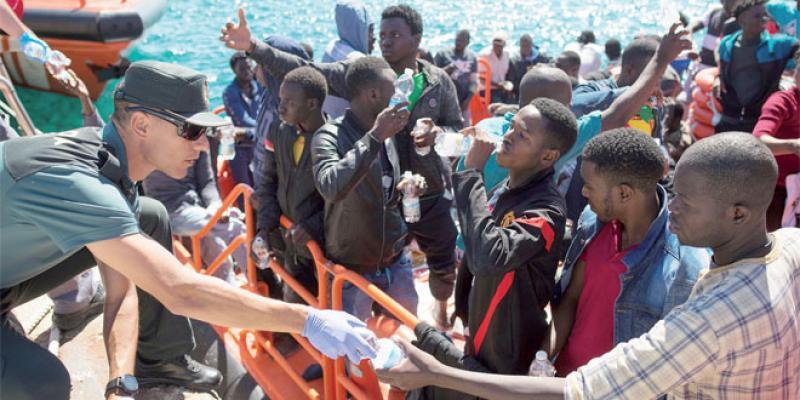 Migrants: Bruxelles va accorder des financements