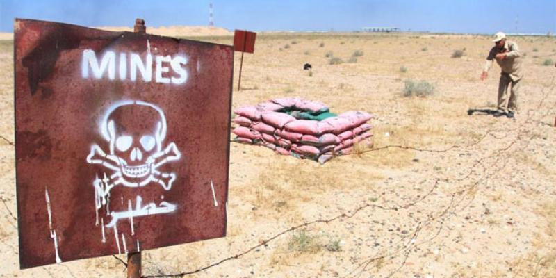 Mines antipersonnel: Le Maroc applique de facto la Convention d'Ottawa