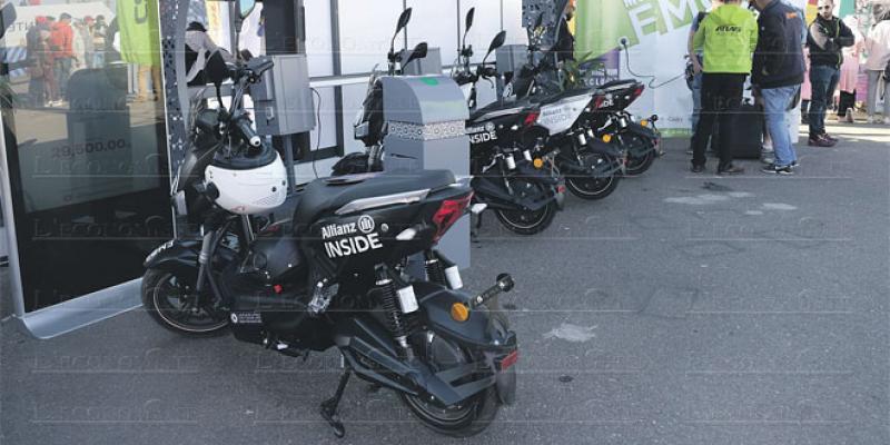 Les motos électriques débarquent à Marrakech