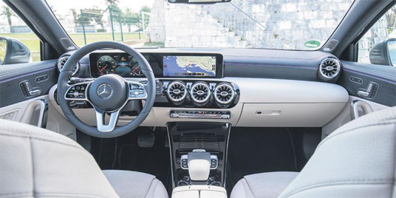Mercedes classe A: La voiture qui vous parle