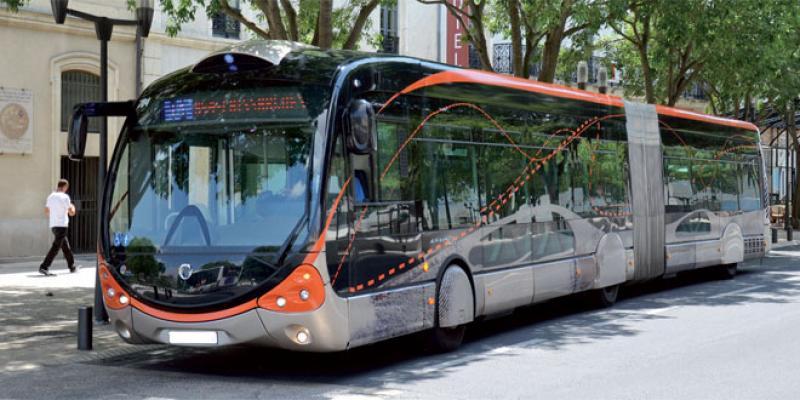 Un parc de bus haut de gamme à Casablanca