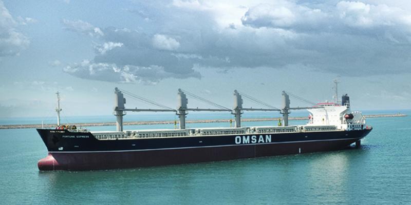 Fortunes Express amarre pour la 1ère fois sur les ports marocains