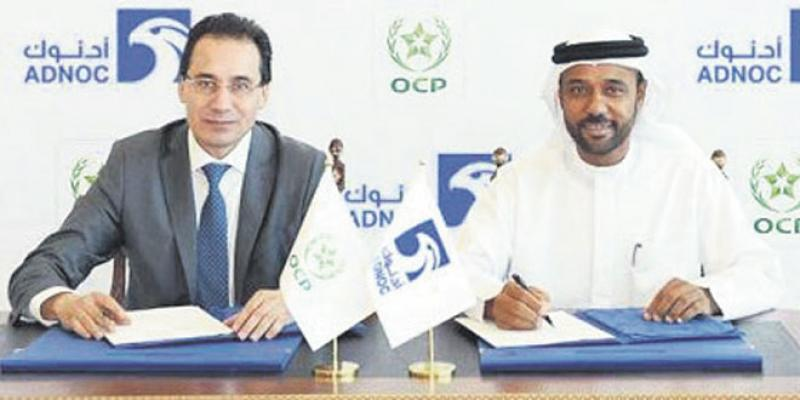 OCP: Gros deal avec Abu Dhabi Oil Company
